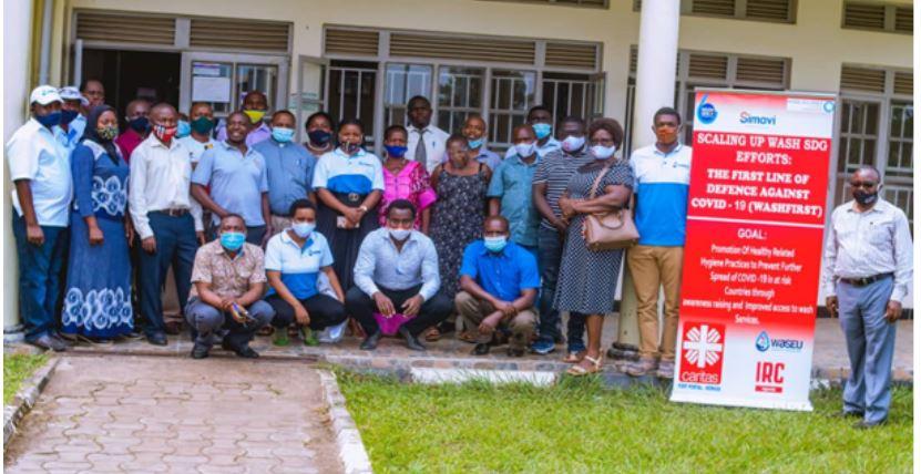 Group photo with participants in Bundibugyo